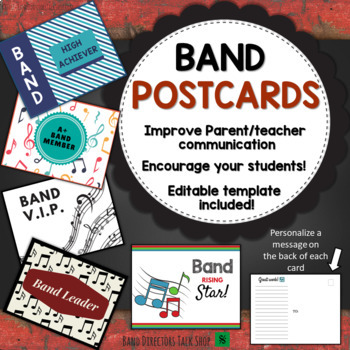 Band Postcards