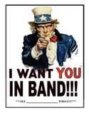 Band Recruitment Poster