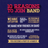 Band Recruiting Poster