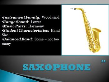Band Recruiting Parent Meeting Powerpoint