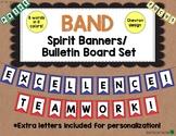 Music Bulletin Board: Band Spirit Banners Music Decor