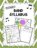 Band Syllabus