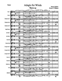 Band Warm-Up Chorale: Adagio for Strings by Samuel Barber
