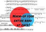 Concert Band Music - Warm Up - Concert F Major