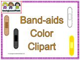 Band-aids Color Clipart