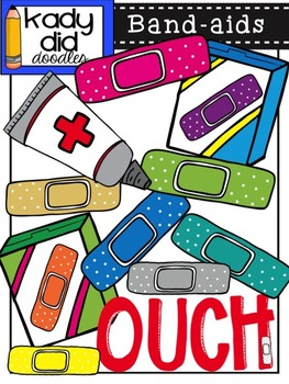 Band-aids {by Kady Did Doodles}