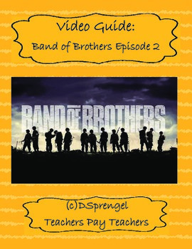 Band of Brothers Episode 2 Day of Days Video Movie Guide (HBO 2001)