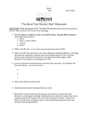 Band that Wouldn't Die Documentary Worksheet