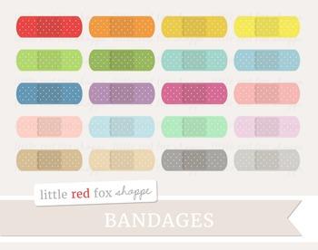 Bandage Clipart; Medical, Baindaid, First Aid, Nurse