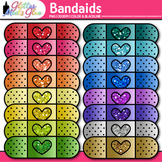 Band-Aid Clip Art | Bandages from the Nurse's Office for First Aid