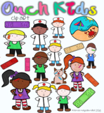 """Bandage Clip Art: """"Ouch"""" Kids"""