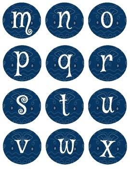 Bandana Alphabet and Numbers