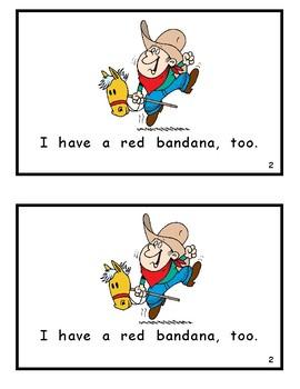 Bandana Boys Reproducible Readers