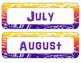 Western Bandana Months