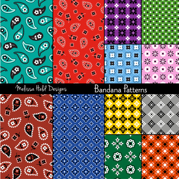 Bandana Patterns