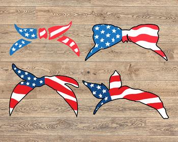 Bandana mask United States Flag USA america 4th july independence day 1368s