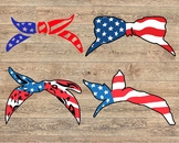 Bandana mask United States Flag USA america 4th july independence day 1375s