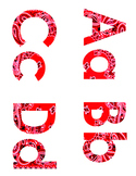 Bandana Letters and Numbers Combo Pack