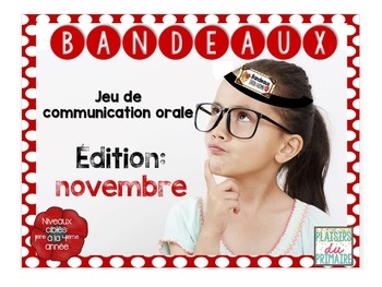 BUNDLE : Bandeaux Oral communication game