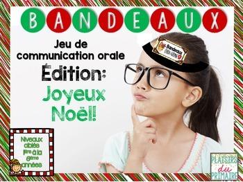 Bandeaux Oral communication - Jeu de communication orale *CHRISTMAS*