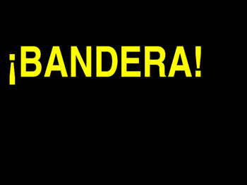 Bandera!  Review game for Spanish class.  Adaptable for ANY topic!