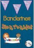 "GRATIS Banderines ""Bienvenidos"" / FREE Welcome Banners in Spanish"