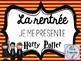 Banderoles Je me présente HARRY POTTER français/french