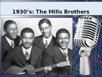 Bands Of The Decades: 1930's Mills Brothers