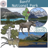 Banff National Park Clipart Set