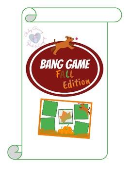 Bang Game Fall Edition