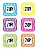 Bang/ Zap labels