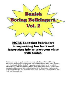 Banish Boring Bellringers, Vol. 2