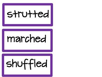 Banish Tired Words Bulletin Board Set