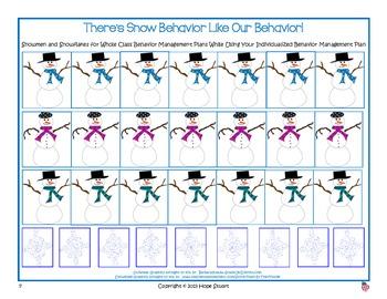 Banishing Bad Behavior in January:  There's Snow Behavior Like Our Behavior!