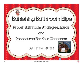 Banishing Bathroom Blips: Proven Strategies, Ideas and Procedures