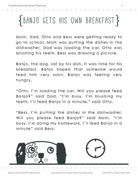 Banjo Gets His Own Breakfast: Bundle