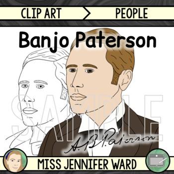 Banjo Paterson Clip Art