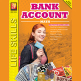 Bank Account Math:  Life Skills Activities