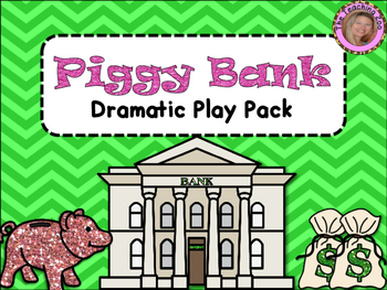 Bank Dramatic Play Pack