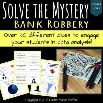 Bank Robbery Mystery - Rich Culminating Task - Data Management