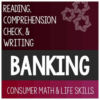Bank Services Article- Consumer Math Special Education