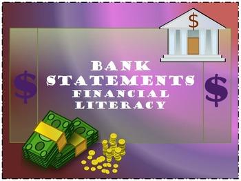 Bank Statements - Financial Literacy
