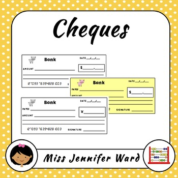 Bank Cheque / Bank Check Templates