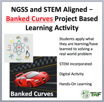 Banked Curves - A Physics Project Based Learning Activity (PBL)