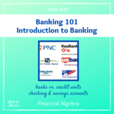 Banking 101 Lesson Plan (slide deck)
