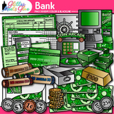 Banking Money Clip Art | Counting and Sorting, Place Value, & Coin Recognition