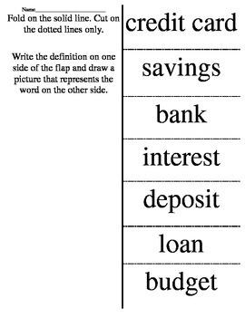 Banking Flap book