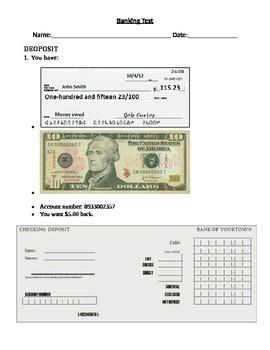 Banking Test