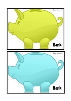Bankrupt Money Recognition Game - Australian Currency