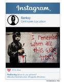 Banksy Instagram - Artist Instagram Series
